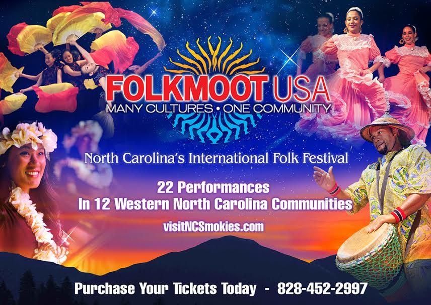 Folkmoot tonight in Canton, Bryson City
