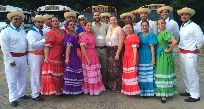 Folkmoot guide is seeking funds to travel abroad