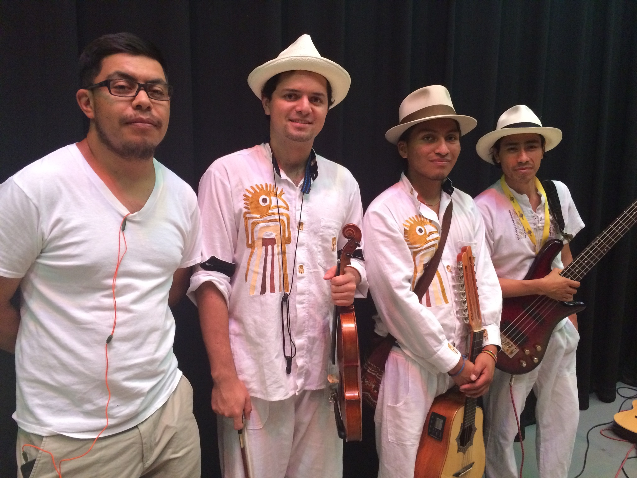 Folkmoot musician became father of twins!