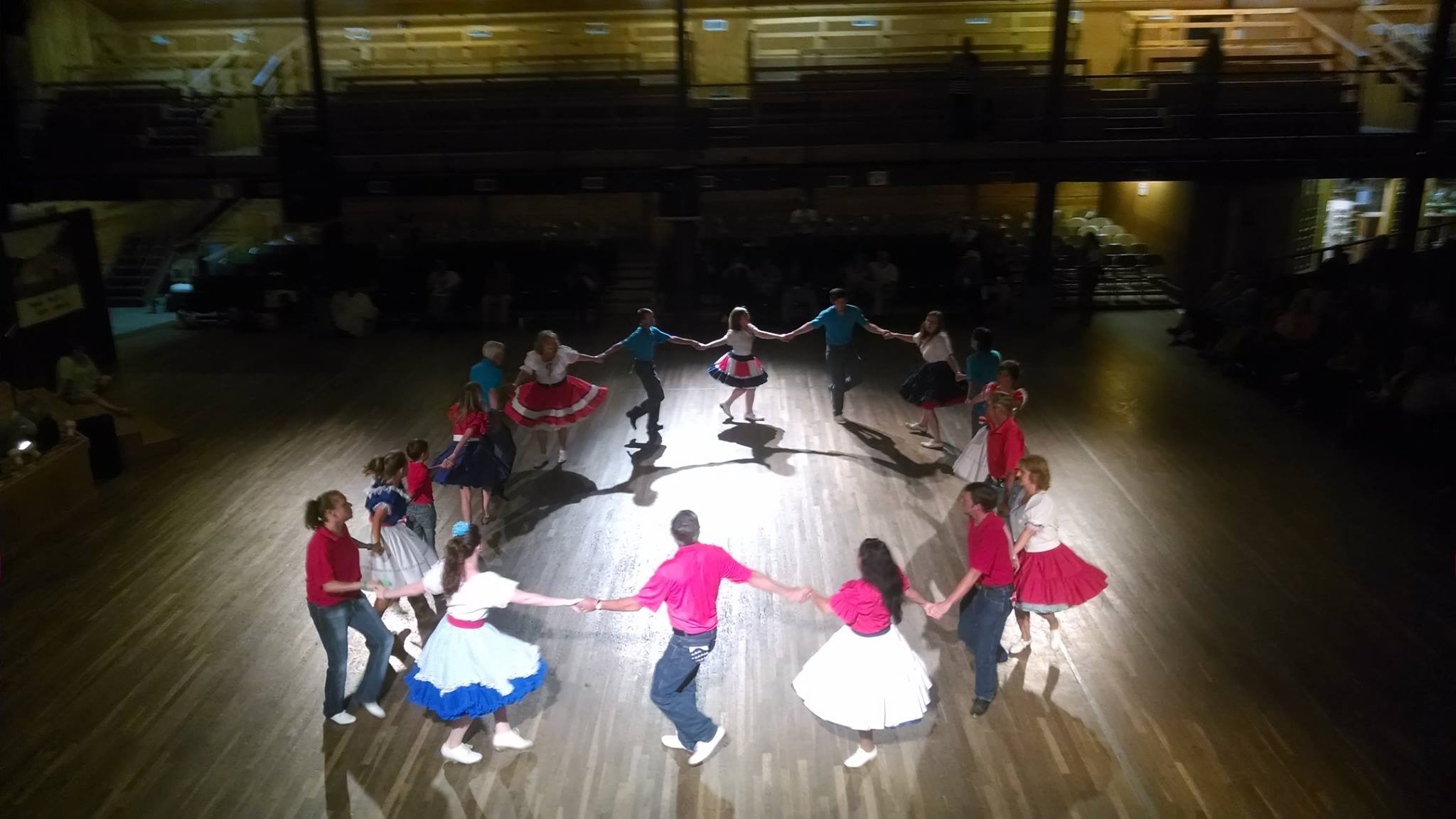 Folkmoot 2016 features our own mountain dance, too.