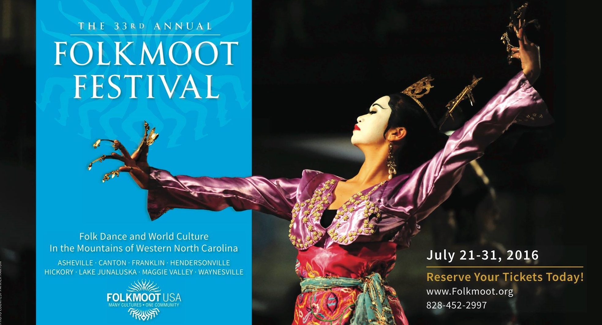 Folkmoot 2016 schedule & tickets!