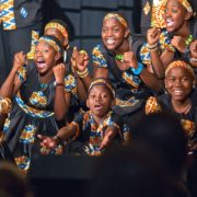 Uganda childrens choir at Folkmoot 2016!