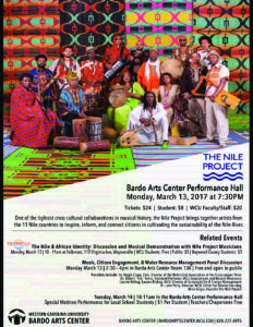 The Nile Project with Western Carolina University @ Folkmoot Friendship Center | Waynesville | North Carolina | United States