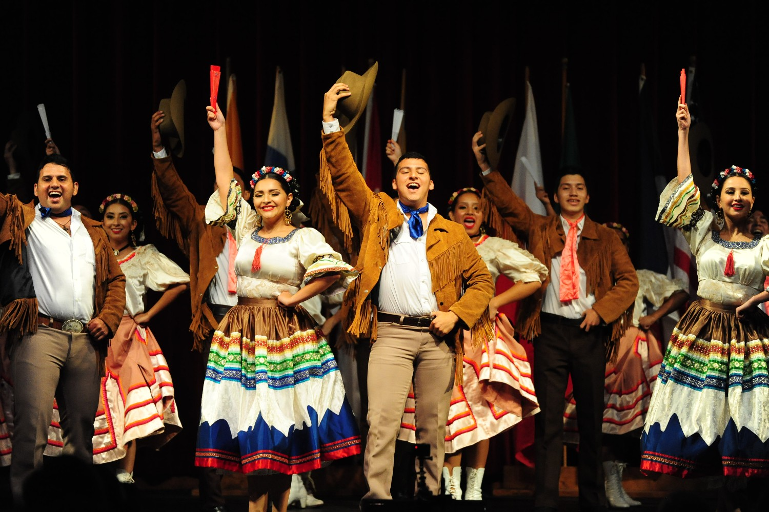 """Hey, y'all! Say, """"hello,"""" in the languages of Folkmoot"""