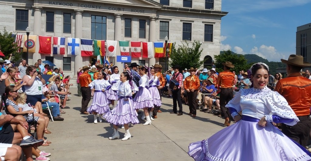 A Folkmoot sponsorship is among the most prized