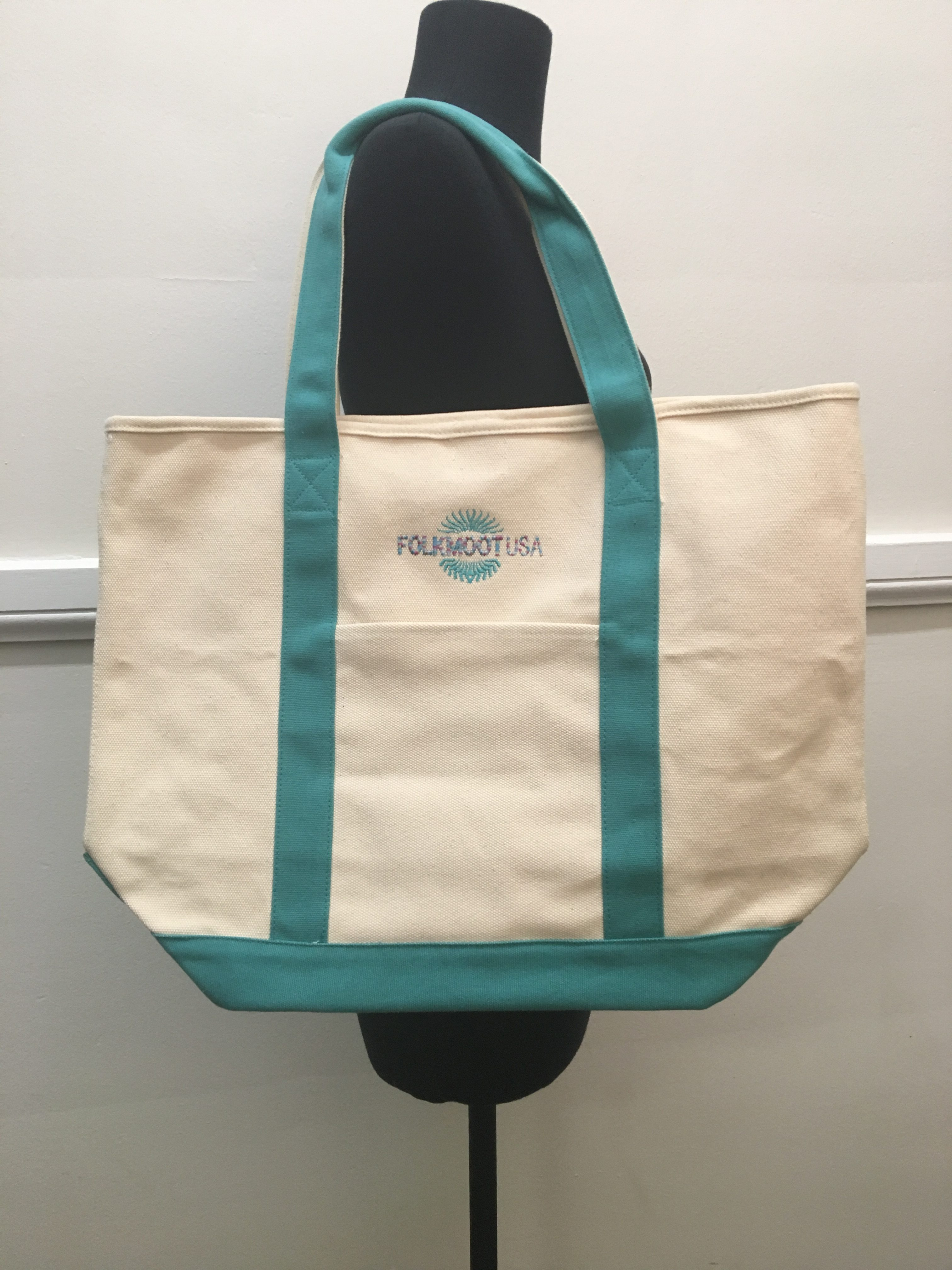 Reuseable Canvas Tote Bag