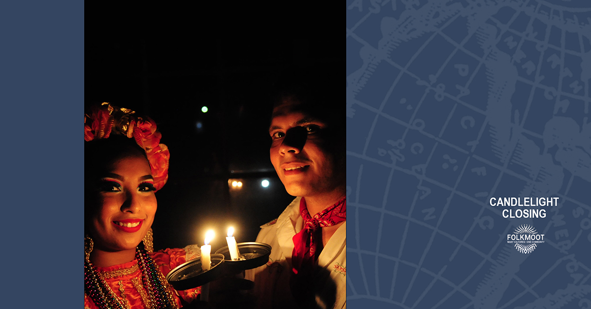 Folkmoot 2019 - Candlelight Closing @ Stuart Auditorium