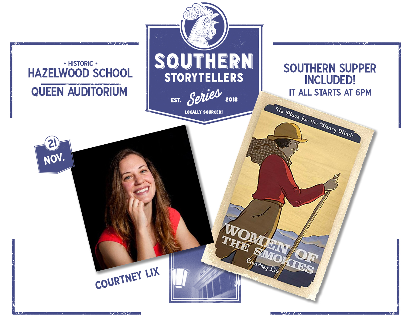 Southern Storytellers Series Courtney Lix