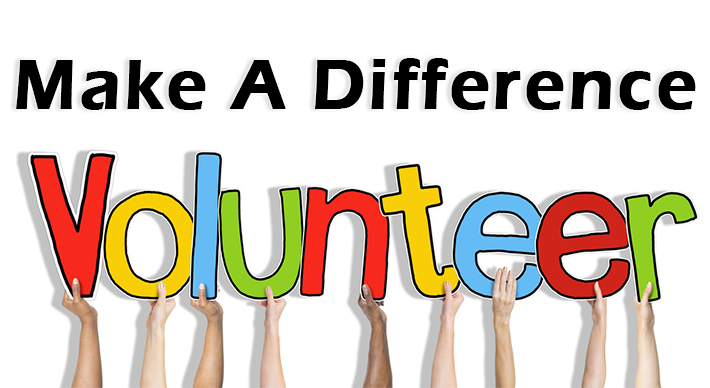 Make A Differences! Volunteer!